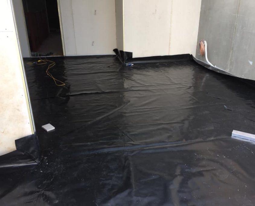 Nilon lót sàn bê tông –  Màng HDPE lót sàn HDPE 3 LỚP 19